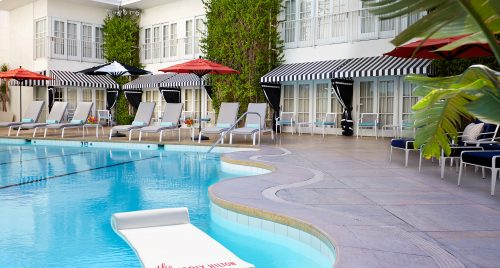 Beverly Hilton Aqua Star Pool