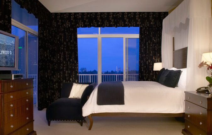 Beverly Hilton Governor's Suite Bedroom