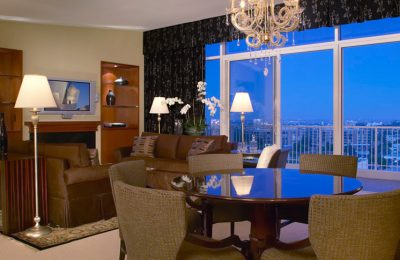 Beverly Hilton Governor's Suite Living Room