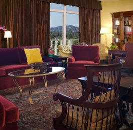 Beverly Hilton Presidential Suite Living Room