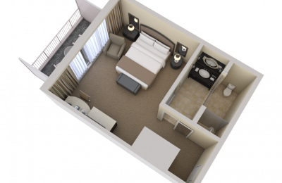Wilshire Deluxe King Floorplan