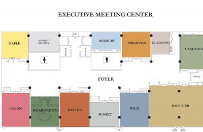 Executive Meeting Center Diagram