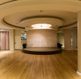 Indoor Stardust Penthouse stage at The Beverly Hilton