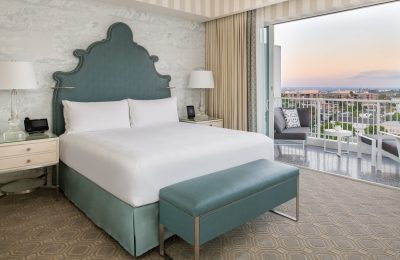 Beverly Hilton Executive Suite Bedroom